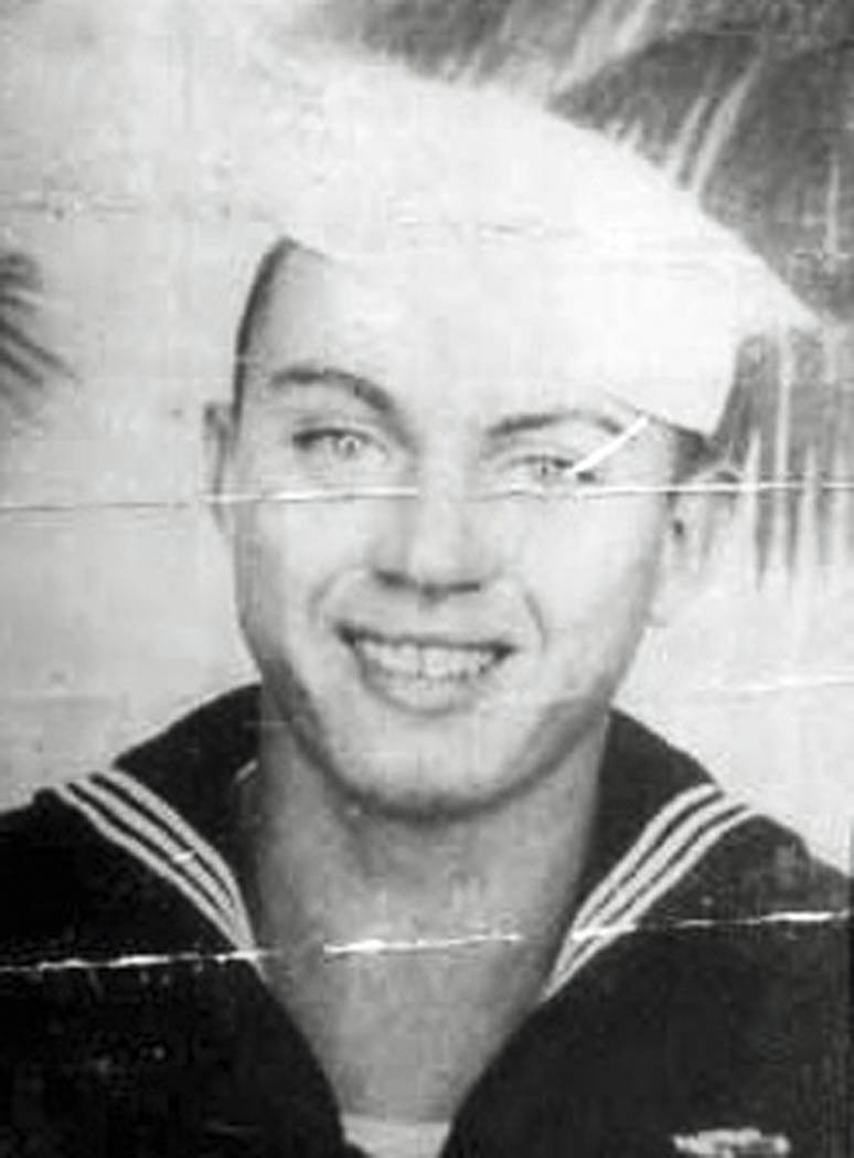 In this undated photo released by the Defense POW/MIA Accounting Agency is Navy Aviation Machinist's Mate 2nd Class Durell Wade. More than 75 years after nearly 2,400 members of the U.S. military ...