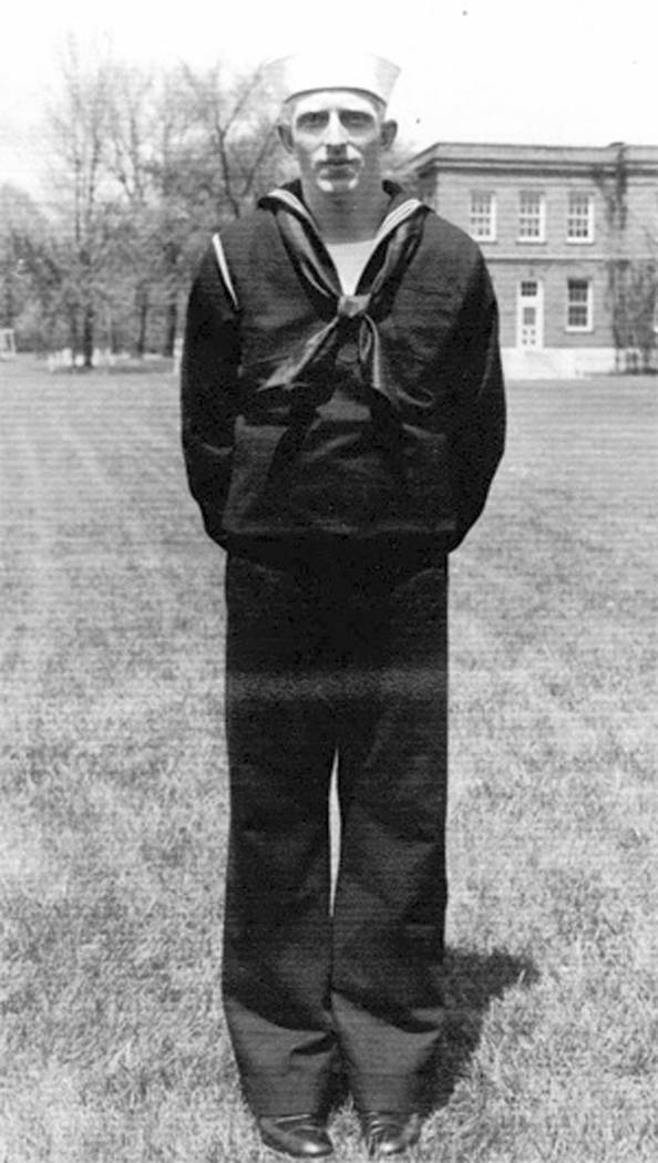 In this undated photo released by the Defense POW/MIA Accounting Agency is Navy Seaman 1st Class William G. Bruesewitz. More than 75 years after nearly 2,400 members of the U.S. military were kill ...