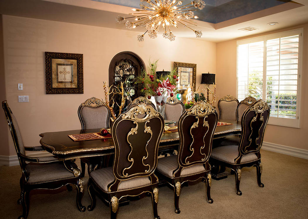 The dining room. (Tonya Harvey Real Estate Millions)
