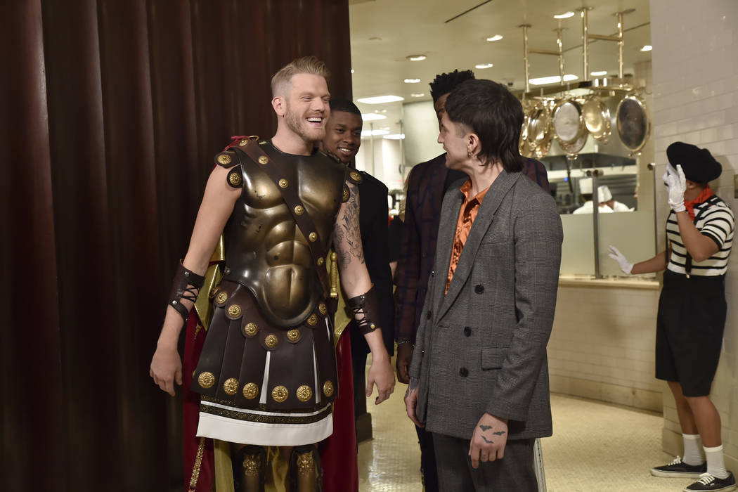 Pentatonix sends 'Caesars greetings' from Las Vegas in