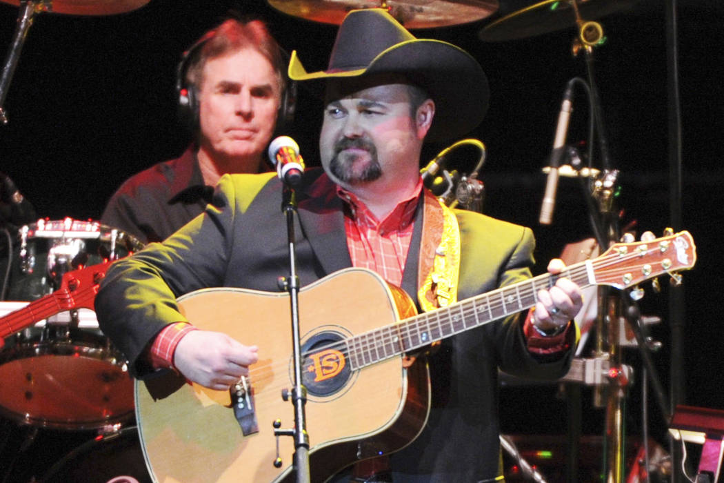In this Nov. 22, 2013 file photo, Daryle Singletary performs at a tribute to George Jones in Nashville, Tenn. (Photo by Frank Micelotta/Invision/AP, File)