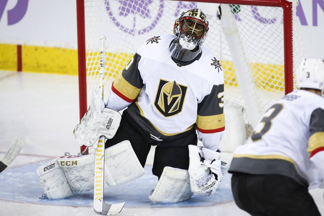 Golden Knights Malcolm Subban Awaits Next Chance In Net Las Vegas