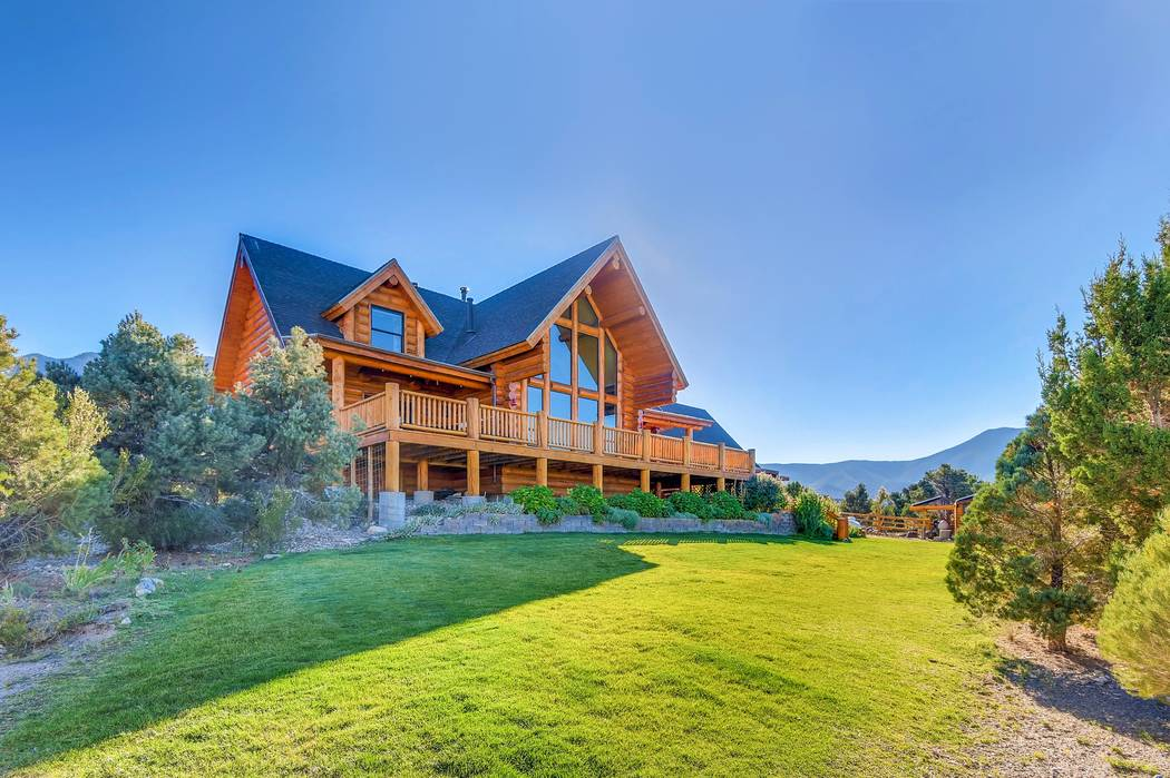 The Cold Creek Canyon home is listed for $850,000. (Mt. Charleston Realty)