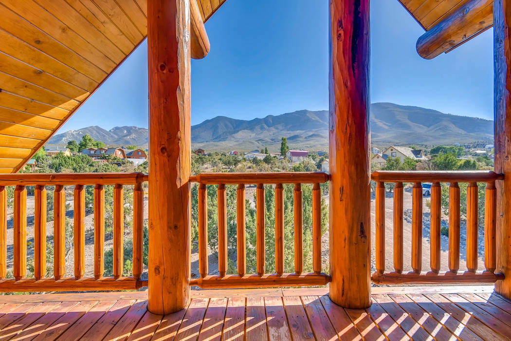 The community is about 45 minutes from Las Vegas. (Mt. Charleston Realty)