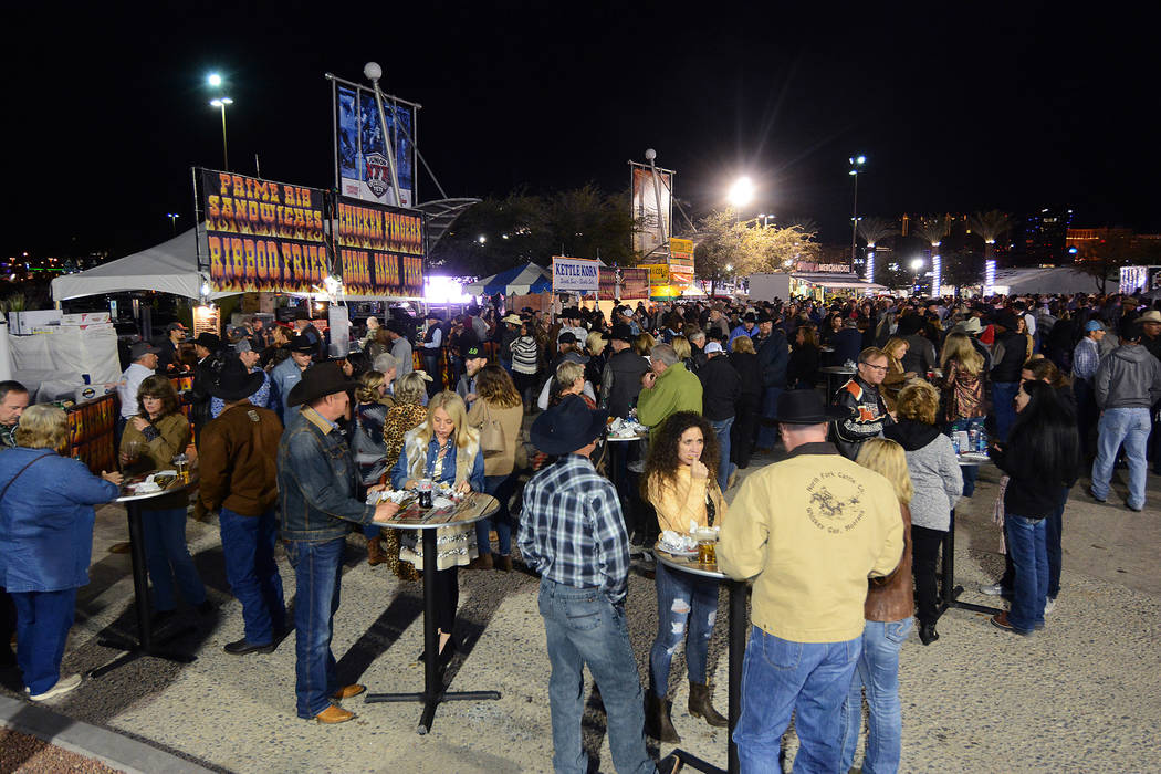 The Wrangler NFR Fan Zone provides a great place to meet up outside the Thomas & Mack Center and grab a bite to eat before going into the arena for the nightly go-rounds. The Wrangler NFR runs thr ...