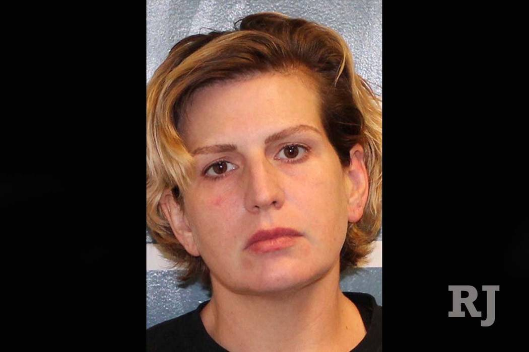 This undated photo provided by the Tulare County Sheriff's office shows Heather Langdon. Police have arrested Langdon in central California after her twin 10-month-old sons were found drowned in a ...
