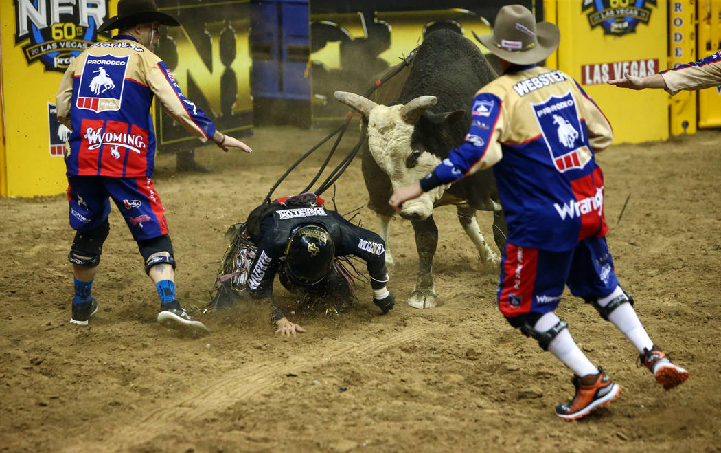 Bull Rider 20 Shows Scary Good Talent At Nfr Las Vegas