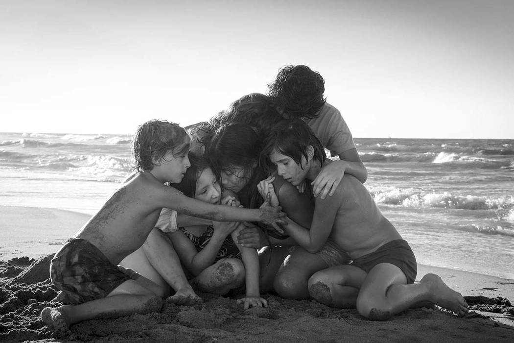 "The Los Angeles Film Critics Association on Sunday named ""Roma,"" best film of the year. (Carlos Somonte/Netflix via AP)"