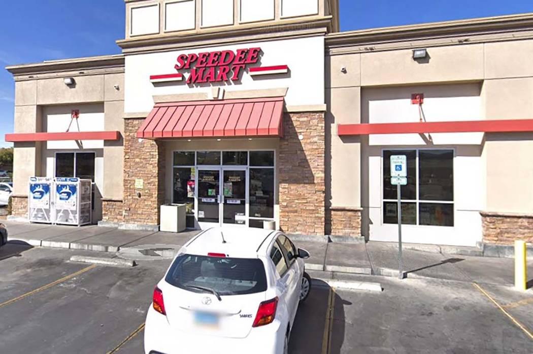 Speedee Mart at 10490 S. Decatur Blvd. (Google)