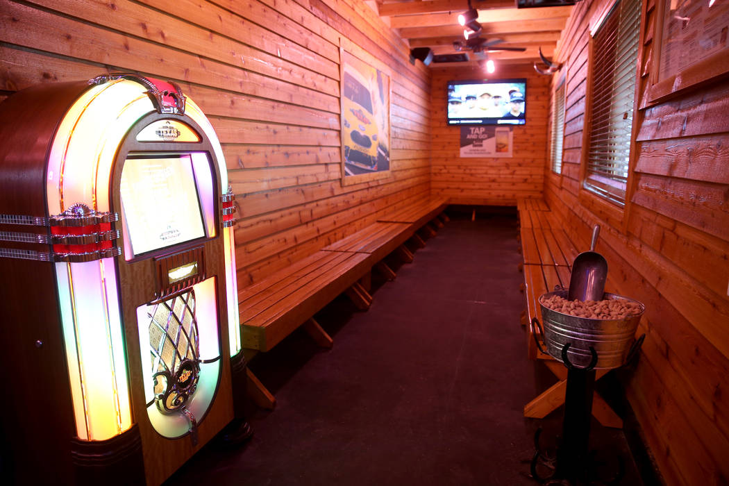 Free peanuts are offered in the waiting area at Texas Roadhouse at 1380 E. Craig Road in North Las Vegas in Wednesday, Dec. 12, 2018. K.M. Cannon Las Vegas Review-Journal @KMCannonPhoto