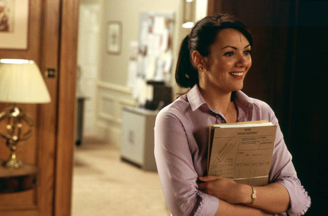 Martine McCutcheon in Richard Curtis' romantic comedy Love Actually. Photo Credit: Peter Mountain ©2003 Universal Studios. All Rights Reserved.