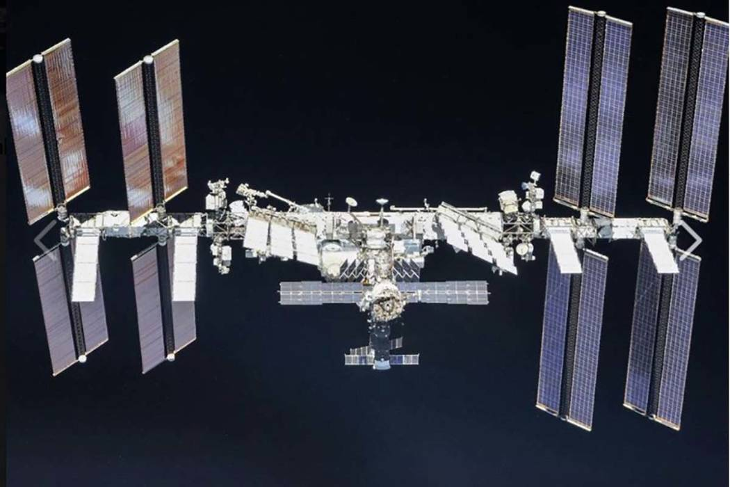 The International Space Station (Facebook)