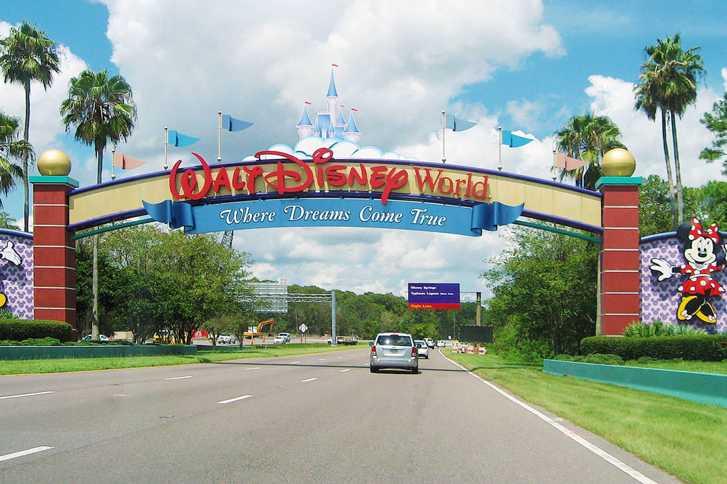 An entrance of Walt Disney World Resort. (Getty Images)