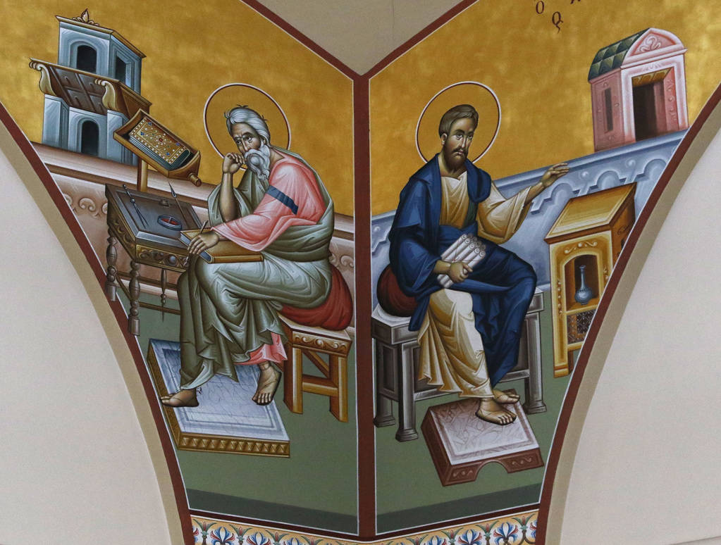 Icons at St. John the Baptist Greek Orthodox Church's altar are seen on Friday, Dec, 14, 2018, in Las Vegas. Bizuayehu Tesfaye Las Vegas Review-Journal @bizutesfaye
