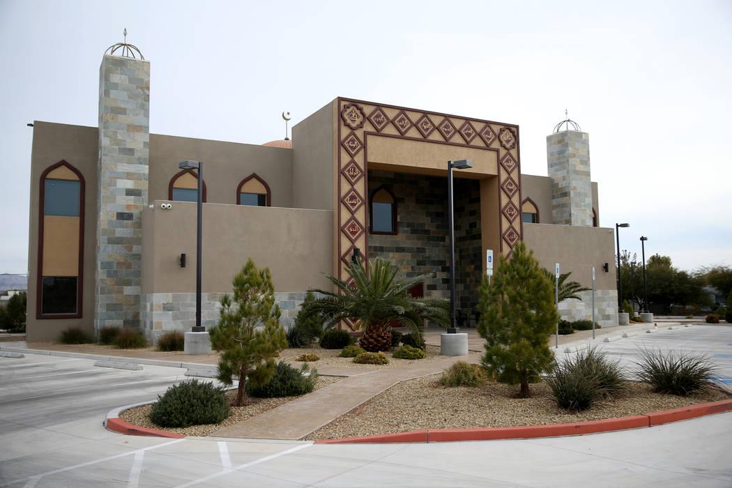 Masjid Ibrahim Islamic Center in Las Vegas Friday, Dec. 14, 2018. K.M. Cannon Las Vegas Review-Journal @KMCannonPhoto