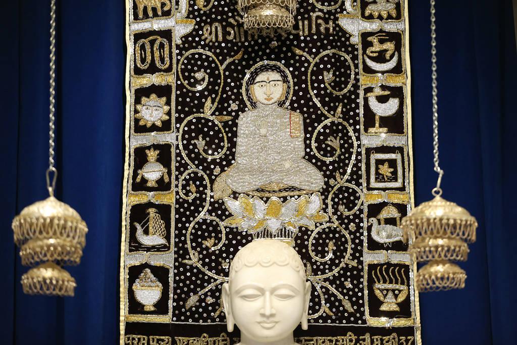 Religious art hangs inside the Hindu Temple of Las Vegas in Las Vegas, Thursday, Dec. 13, 2018. Erik Verduzco Las Vegas Review-Journal @Erik_Verduzco