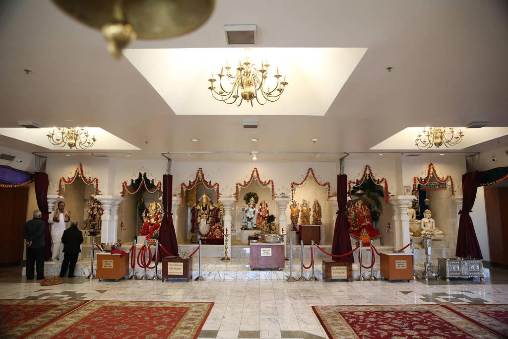 Inside the Hindu Temple of Las Vegas in Las Vegas, Thursday, Dec. 13, 2018. Erik Verduzco Las Vegas Review-Journal @Erik_Verduzco
