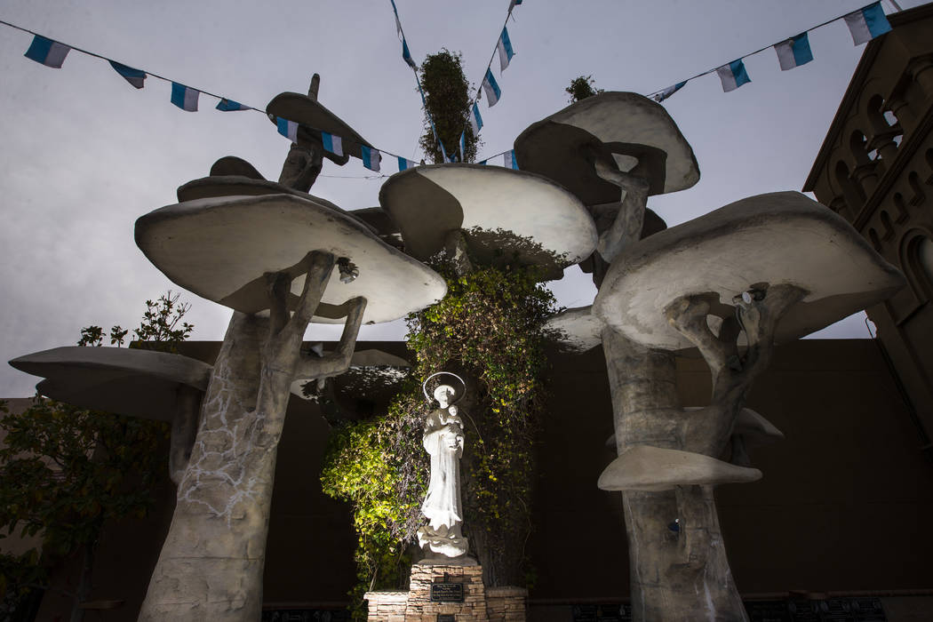 A statue of Our Lady of La Vang at Shrine of Our Lady of La Vang, a Vietnamese Catholic church, in Las Vegas on Friday, Dec. 14, 2018. Chase Stevens Las Vegas Review-Journal @csstevensphoto