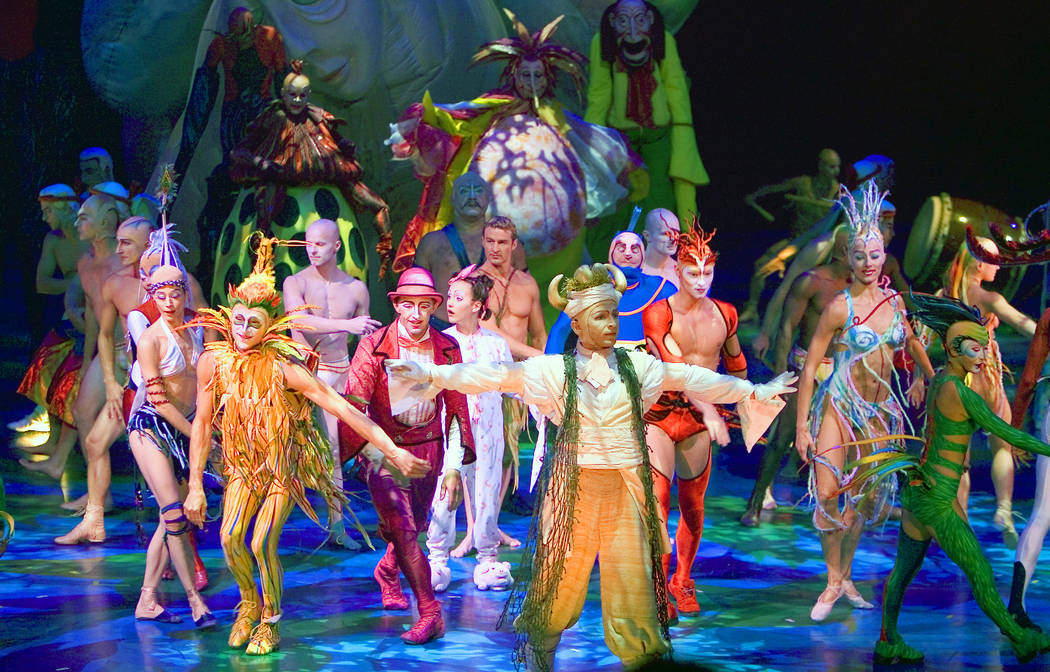 Mystere by Cirque du Soleil. Photo courtesy/Cirque du Soleil