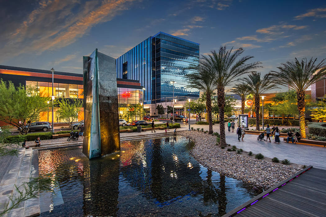 Downtown Summerlin, the community's burgeoning urban core, is home to two major sports facilities: City National Arena, practice facility of the Vegas Golden Knights; and coming soon, Las Vegas ...