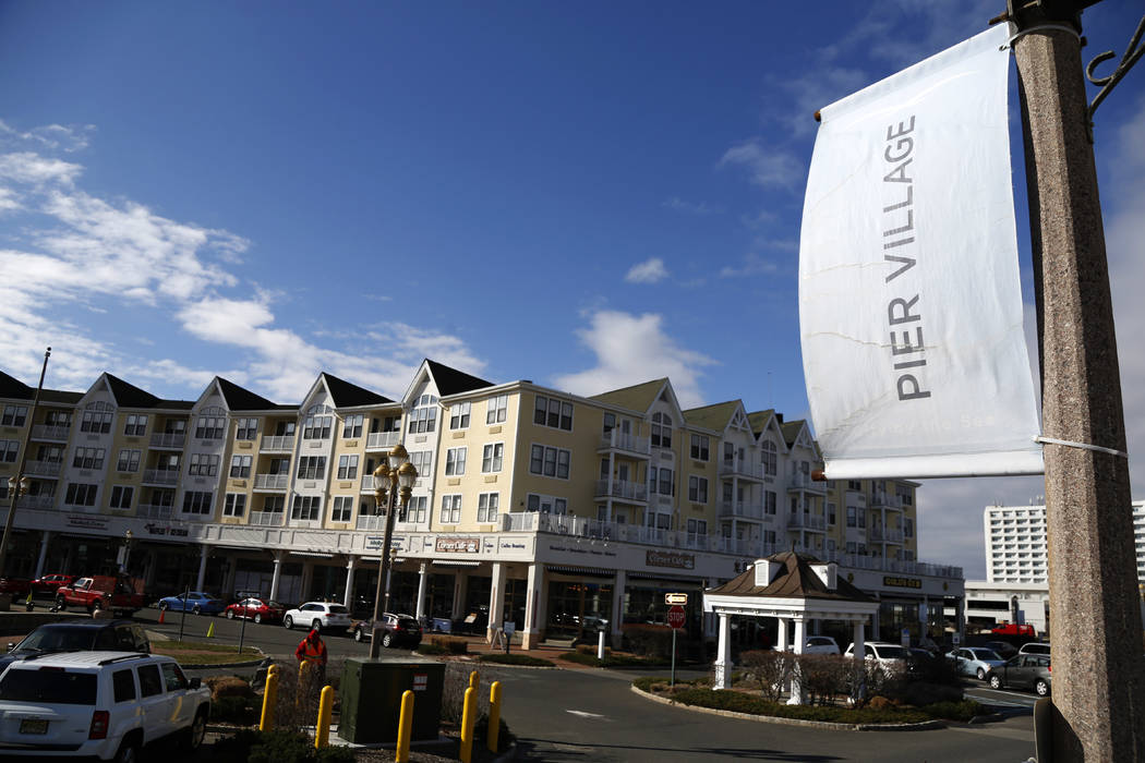 The Pier Village development is seen in Long Branch, N.J., March 5, 2018. An Associated Press investigation found President Donald Trump's daughter and son-in law could benefit from a program th ...