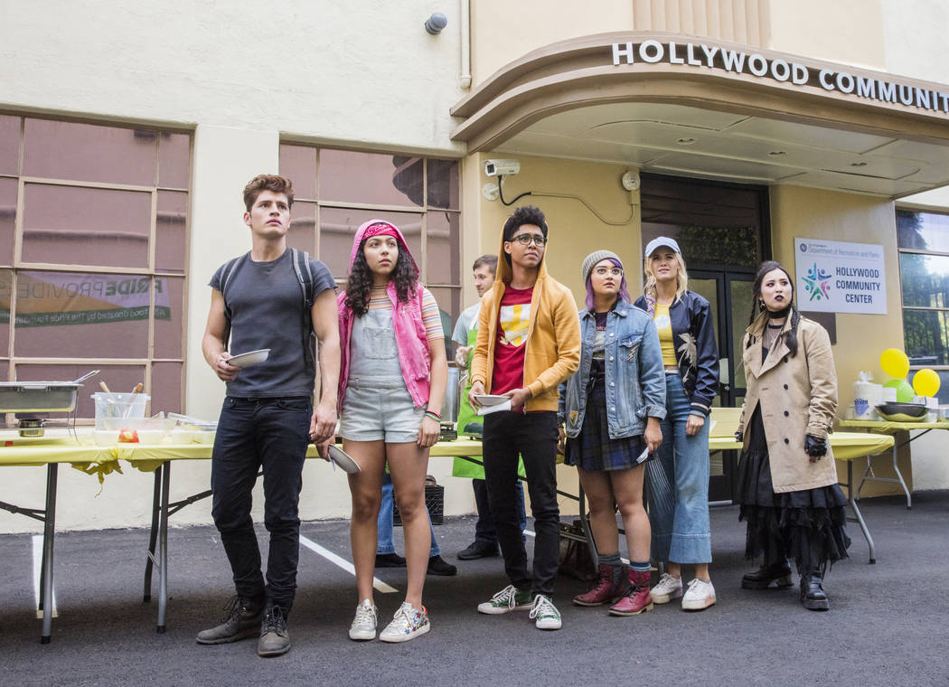 "Runaways -- ""Gimme Shelter"" Episode 201 -- The kids struggle with their new lives as Runaways, but find a hideout. Alex goes to work for Darius while PRIDE plots to kill Jonah. Jonah in ..."
