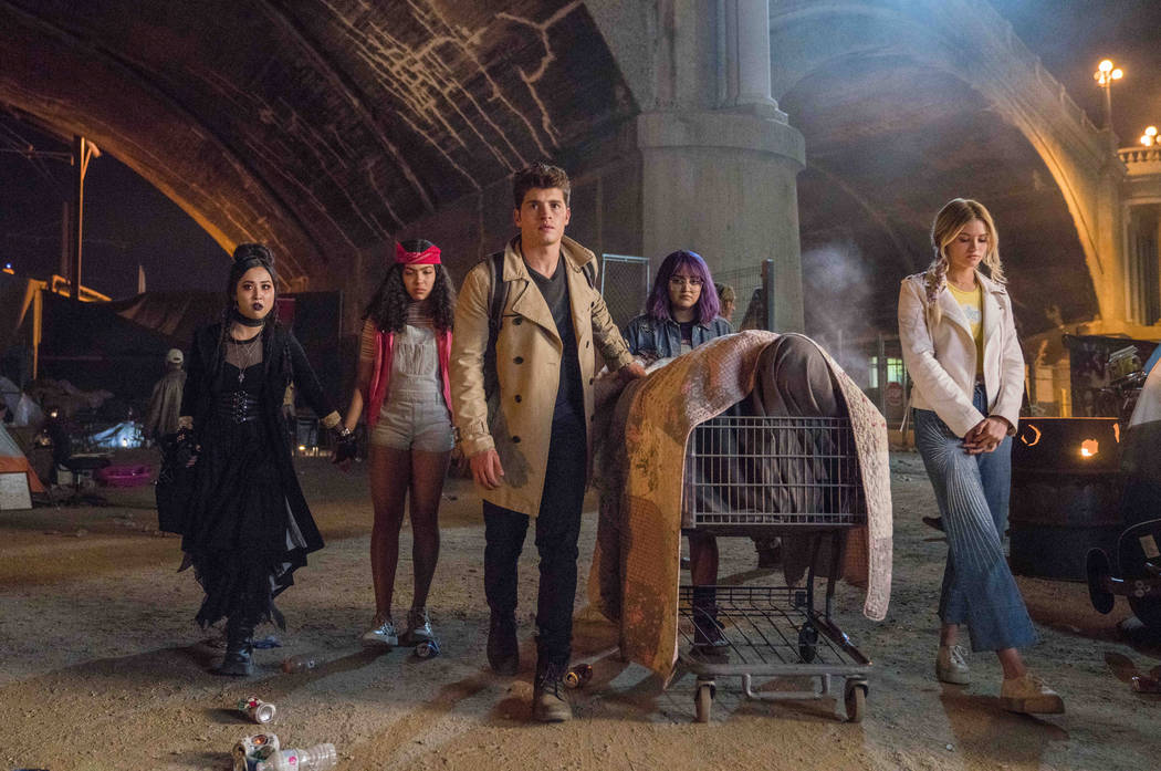 "Runaways -- ""Gimmie Shelter"" -- Episode 201 -- The kids struggle with their new lives as Runaways, but find a hideout. Alex goes to work for Darius while PRIDE plots to kill Jonah. Jonah ..."