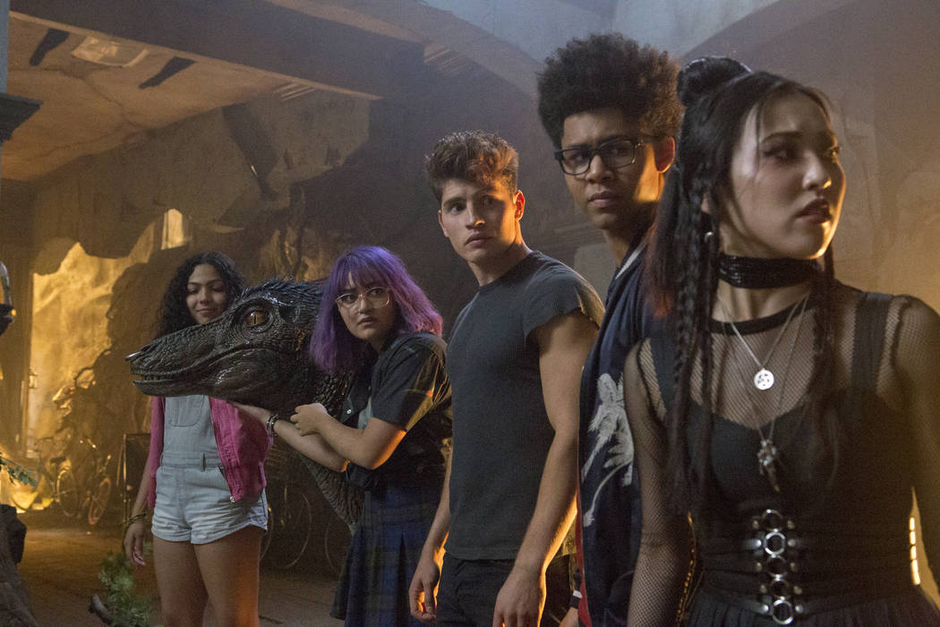 "Runaways -- ""Radio On"" -- Episode 202 -- Karolina, Nico, and Molly try to retrieve the Staff of One, but Tina puts up a fight. Karolina grows closer to Jonah while Alex and Livvie share ..."