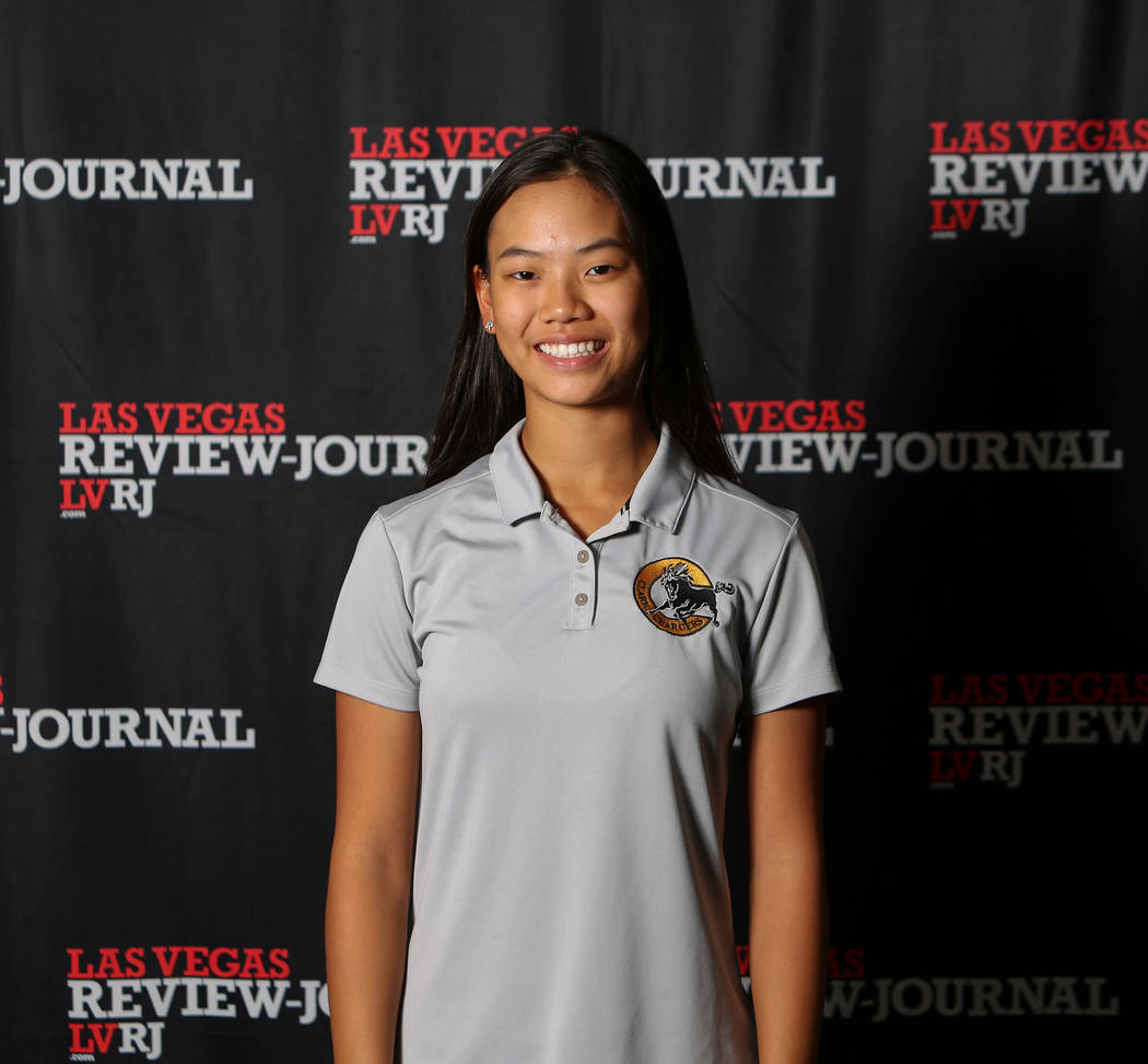 Clark's Riana Mission is a member of the Nevada Preps all-state girls golf team.
