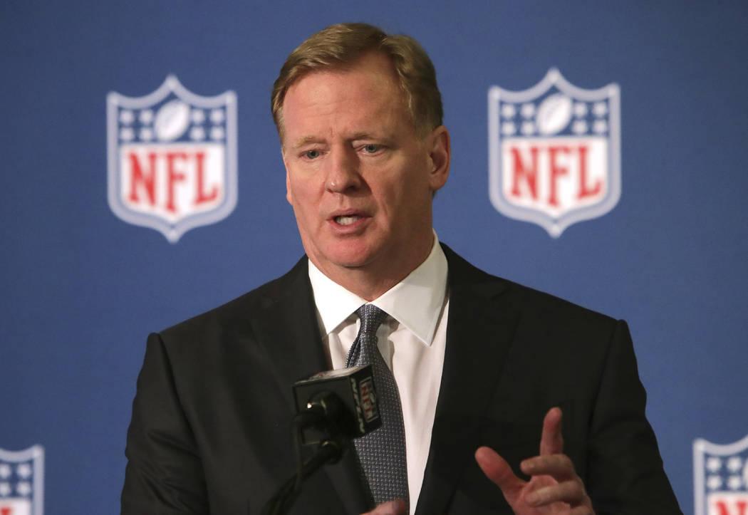 NFL commissioner Roger Goodell. (AP Photo/LM Otero)