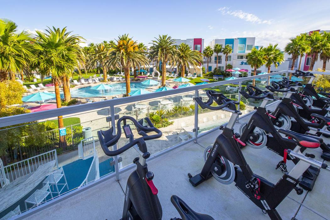 South Beach, a luxury apartment complex in the southwest Las Vegas Valley, sold in November for $62 million. (Schulman Properties)