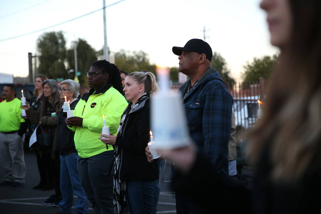 at the CARE Complex in Las Vegas, Thursday, Dec. 13, 2018. Erik Verduzco Las Vegas Review-Journal @Erik_Verduzco