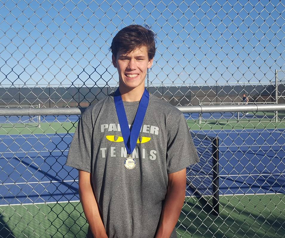 Palo Verde's Michael Andre is a member of the Nevada Preps all-state boys tennis team.