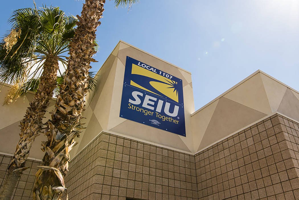 The SEIU office in Las Vegas (Las Vegas Review-Journal)