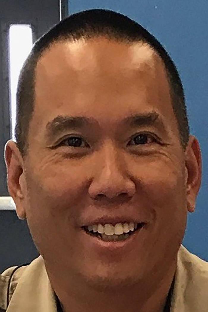 Metropolitan Police Officer Alan Dong