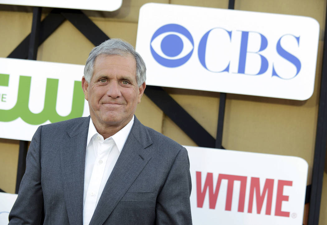 In this July 29, 2013, file photo, Les Moonves arrives at the CBS, CW and Showtime TCA party at The Beverly Hilton in Beverly Hills, Calif. CBS is pledging $20 million in grants to 18 organizatio ...