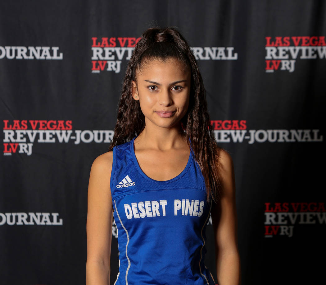 Desert Pines' Jazmin Felix is a member of the Nevada Preps all-state girls cross country team.