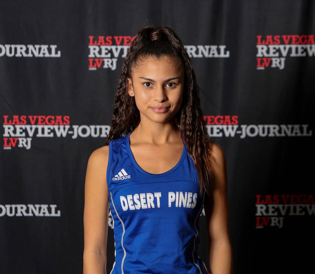 Desert Pines' Jazmin Felix is a member of the Nevada Preps all-state girls cross country team.