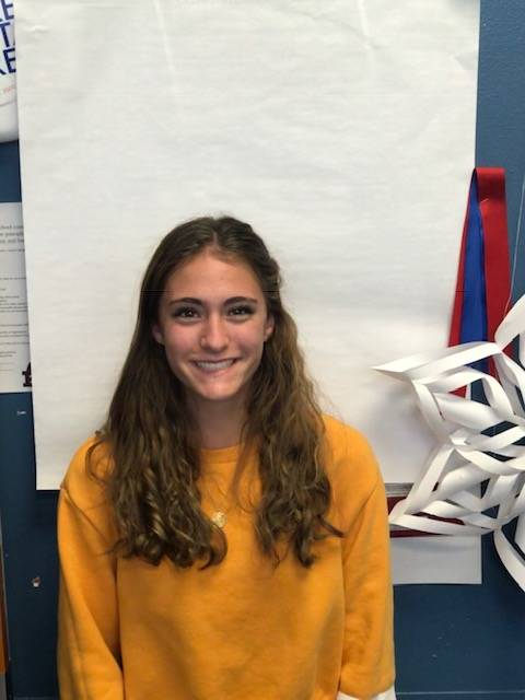 Reno's Penelope Smerdon is a member of the Nevada Preps all-state girls cross country team.