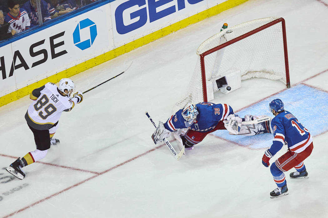 buy popular 96a9e 85b97 All-American Line' lifts Golden Knights past Rangers in OT ...