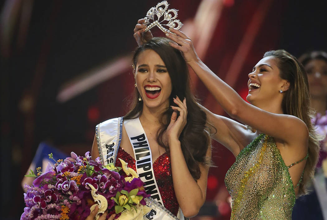 Miss Universe 2017 Tickets Price Las Vegas >> Philippines Catriona Gray Captures Miss Universe Crown Las Vegas