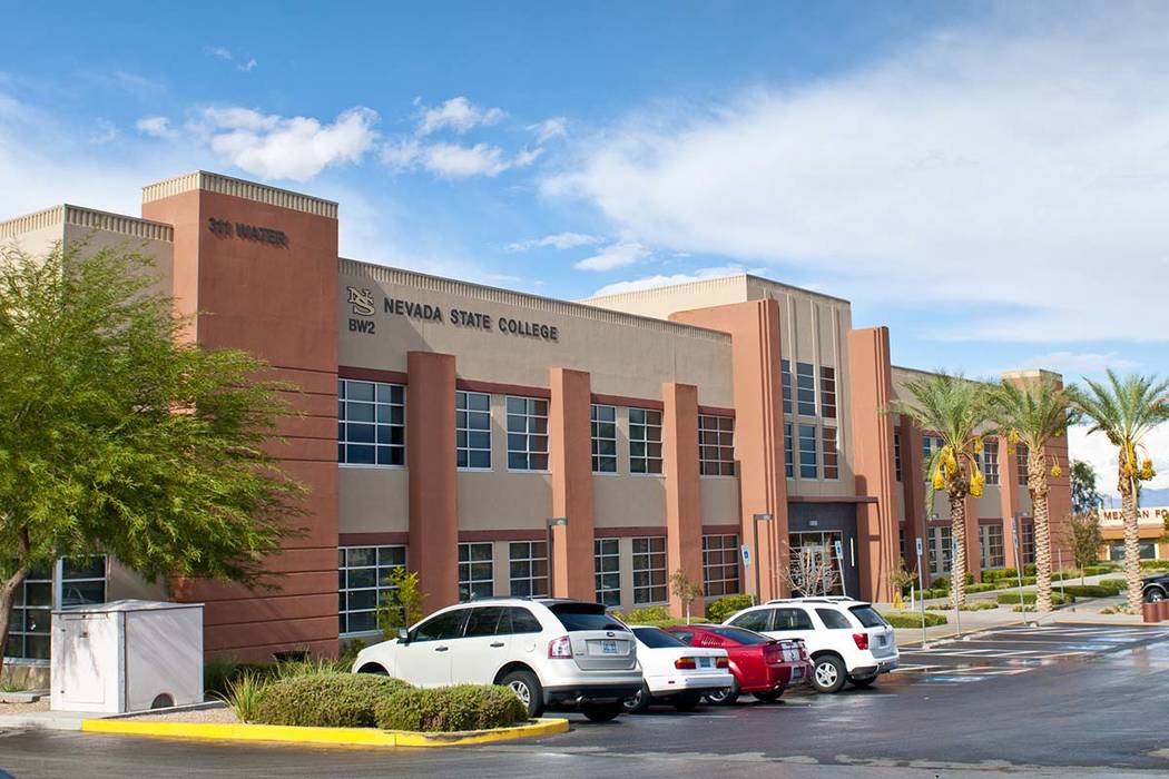 Incoming Nevada State College students can earn up to $2,000 off their tuition and fees based on their previous grade-point averages. (Nevada State College)