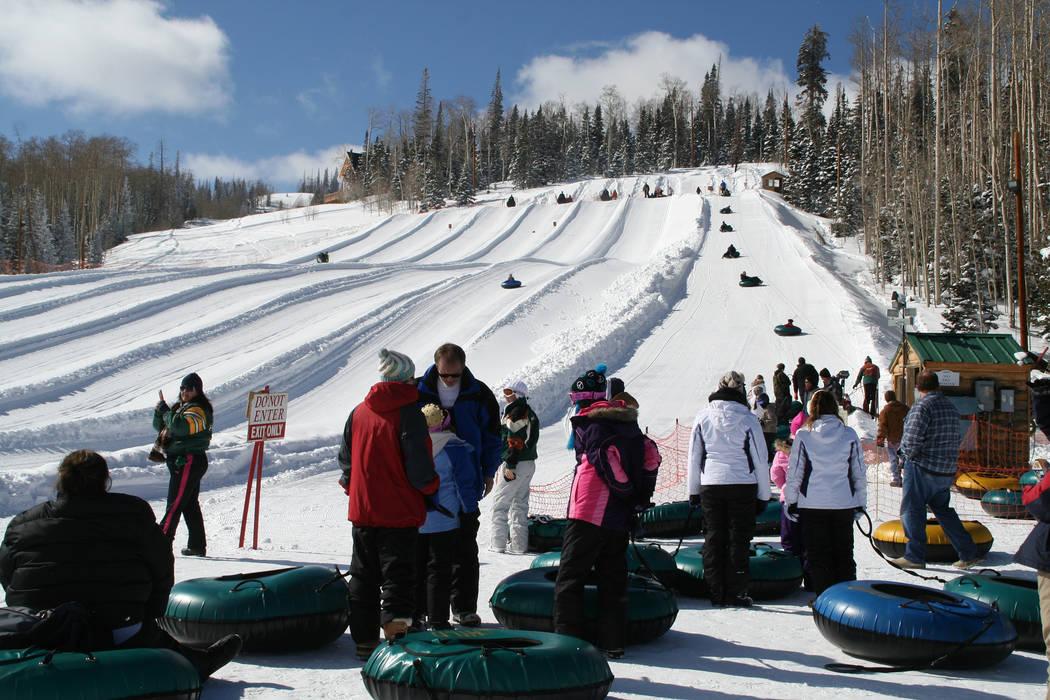 Utah's Brian Head Resort has two tubing parks. (Deborah Wall/Las Vegas Review-Journal)