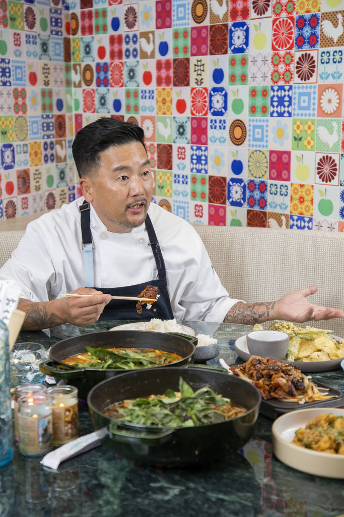 Chef Roy Choi's new restaurant Best Friend is opening at Park MGM in Las Vegas.
