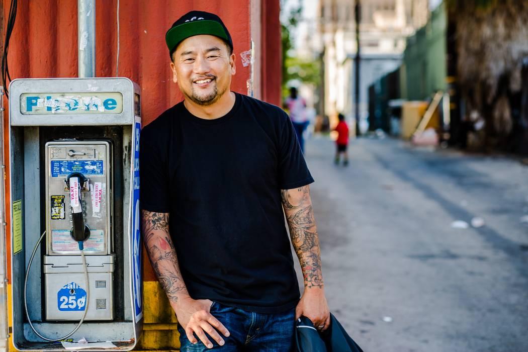 Chef Roy Choi. (Travis Jensen)