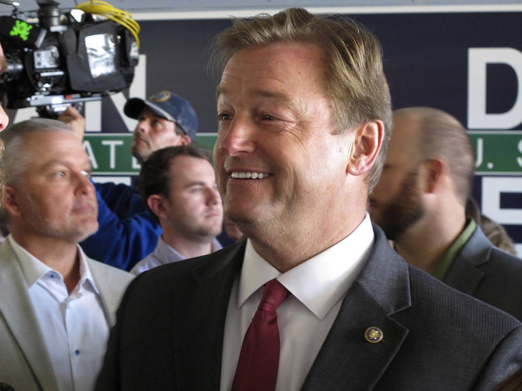 Nevada Republican Sen. Dean Heller. (AP Photo/Scott Sonner)