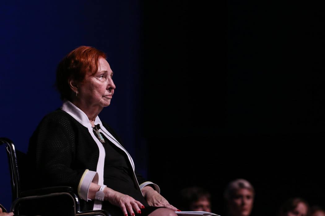 Dr. Barbara Atkinson. Joel Angel Juarez Las Vegas Review-Journal @jajuarezphoto