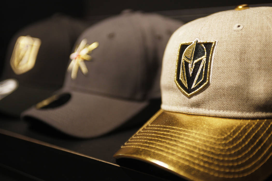 Hats for sale at the Vegas Golden Knights team store, called the Armory, at the T-Mobile Arena on Monday, June 19, 2017, in Las Vegas. Rachel Aston Las Vegas Review-Journal @rookie__rae
