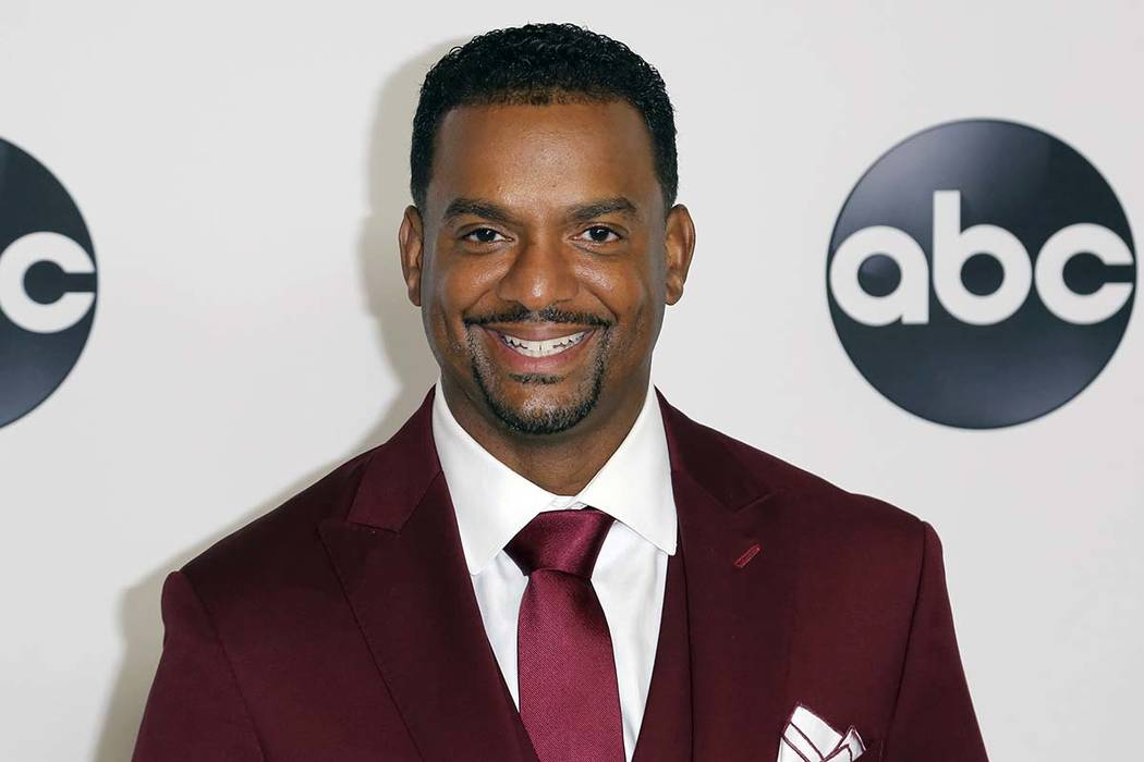 FILE - In this Aug. 7, 2018 file photo, Alfonso Ribeiro arrives at the Disney/ABC 2018 Television Critics Association Summer Press Tour in Beverly Hills, Calif. Ribeiro is suing creators of Fortni ...