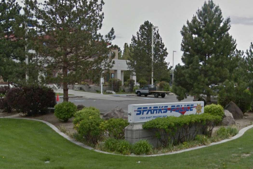 Sparks, Nevada Police Department. (Google Street View)